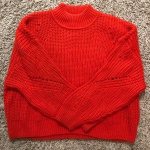 H&M Bright Red Sweater